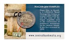 Malta 2017 2€ BU Coin Card HAGAR QIM ** Met Muntteken Full Horn ** Beschikbaar