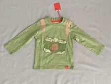 Oilily Boys Green Long Sleeve Top Sz 12 Months / 80 * Post