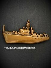 Ton Class Minesweeper Ship Royal Navy Lapel Pin V72