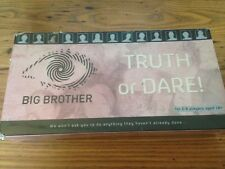 BIG BROTHER TRUTH OR DARE Adult Party Board Game NEW Sealed Family Fan Trivia