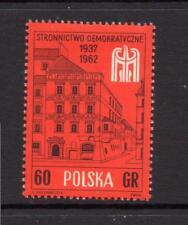 POLAND MNH 1962 SG1342 25TH ANV OF POLISH DEMOCRATIC PARTY