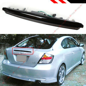 FOR 2005-10 SCION TC FULL LED SMOKED TINTED LENS 3RD BRAKE LIGHT TRUNK STOP LAMP