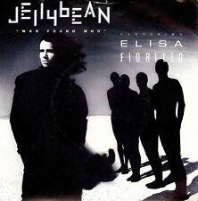 """Jellybean con Elisa Fiorillo che hanno trovato chi 7"""" RECORD Chrysalis 1987 EX"""