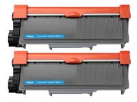 2 Pack TN660 Toner Cartridge for Brother TN630 HL-L2320D L2340DW MFC-L2700DW