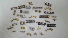 Lot of 35 Vintage Police Lapel Pins