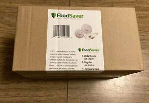 FoodSaver Wide & Regular Mason Jar Sealer w/ Accessory Hose! Super Fast Ship!