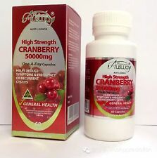 Ausway Cranberry 50000mg High Strength White Helps Skin and Proper Health