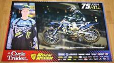 2015 Josh Hill Cycle Trader Yamaha YZ450 AMA Supercross Motocross poster