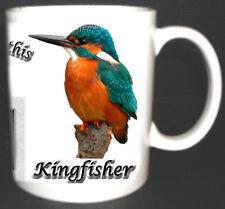 KINGFISHER BRITISH BIRD MUG LIMITED EDITION GIFT BIRD WATCHERS TWITCHERS MUG