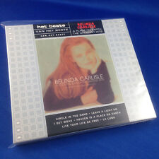 BELINDA CARLISLE: Het Beste Greatest Hits (RARE OOP 2002 DUTCH IMPORT 8120182)