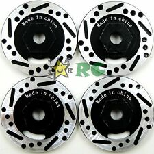 4pcs 1/10 RC Alloy Aluminum Brake Disc Hex Adapter Fit RC Car Hex 12mm Wheel Hub