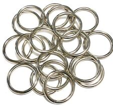 "Harness Ring 1-3/8"" Welded Round Ring 20 Pack"