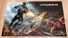 Crysis 2 / Call of Juarez The Cartel rare  Poster PS3 Xbox 360 Playstation 3