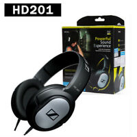 Head-mounted Sennheiser HD201 Pro Closed Back Dynamic Headphones Powerful RAC
