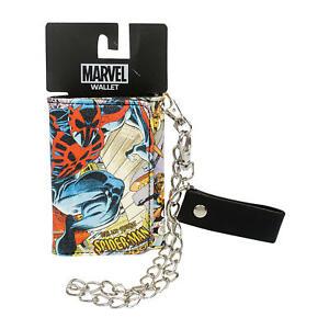 "NEW Marvel Spiderman Chain Wallet 4.5"""