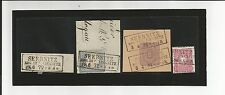 Preussen V. / SEEBNITZ REG. BEZ. LIEGNITZ, Ra3 auf Blankobriefstück, Briefstück