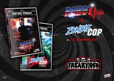 COMBO FREAK VIDEO: ROBOT NINJA + ZOMBIE COP (2 DVD) Audio ENG / Sub ITA