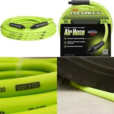 MNPT Air Hose Heavy Duty Durable Lightweight Hybrid Polymer (1/4 in x 50 ft)