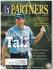 Paul Azinger Signed Autographed PGA Tours Partners Magazine March 2001 Golf
