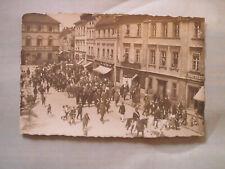 Zobten am Berge Sobótka bei Breslau Festzug Hotel Blauer Hirsch u. KAB Foto 1910