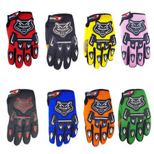 Kids Bike Gloves Children Motorcycle Gloves MX Motorbike Motocross BMX MTB