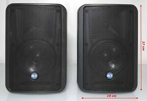 """Pair RCF Monitor 55 - Passive Monitor Speakers - 170W / 4 ohm / LF 5""""- HF 0.75"""""""