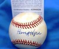 Hank Wyse Signed Psa Dna Coa National League Onl Baseball  Authentic Autographed