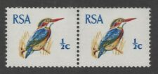 South Africa. 1969. SG282a. 1/2c coil pair. Unmounted mint. FREEPOST!