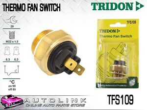 TRIDON THERMO FAN SWITCH FOR DAEWOO ESPERO 2.0L 4CYL 1995-1997 TFS109