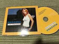 MADONNA - LOVE PROFUSION CD SINGLE MAVERICK 2003 - 3 TRACKS
