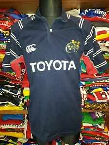 MUNSTER RUGBY 2005-2007 AWAY SHIRT SIZE M UNION JERSEY ADIDAS (o141)