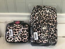Justice Cheetah Flip Sequin Backpack And Lunchbox, New 2019!!