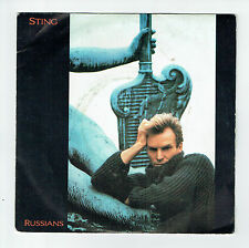 "STING Police Vinyl 45 tours 7"" RUSSIANS - GABRIEL'S MESSAGE - AM 390061 F Réduit"