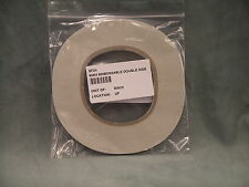 Embossable Double Sided Tape 6mm wide - 50 metre roll - Super Sticky