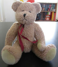 """Boyds Collection Bear #1364 Light Brown Plush Jointed Arms & Legs 11"""""""