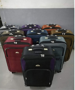 MAROON LUGGAGE 2IN1