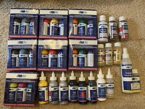 Lot Of 37 Items Yudu Screen Printing Ink, Emulsion Remover, Adhesive & Glitter