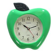 Horloges murales verts rondes pour la salle de bain