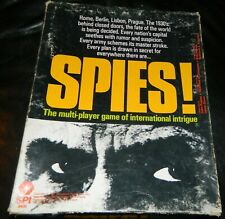 Simulations Publications SPI 1981 SPIES VINTAGE BOARD GAME -Unplayed