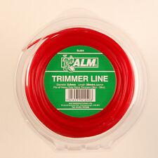 Alm 3 Mm X 28m Rojo Cortadora Cortadora Cesped línea Cable Cord Heavy Duty Gasolina sl024
