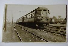 USA707 CHICAGO AURORA & ELGIN Railroad Co - TROLLEY No430 PHOTO Illinois USA