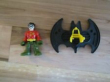 Imaginext Super Friends Batcave Replacement Robin jet pack NEW batwing glider