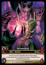WOW WARCRAFT TCG ARCHIVES FOIL : VARIMATHRAS EA X 4