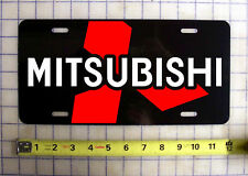 MITSUBISHI LOGO  CUSTOM LICENSE PLATE / CAR TAG