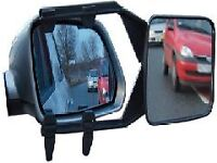 Towing mirror blind spot caravan trailer tow Clip clamp On single HIGH QUALITY