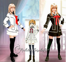 Vampire Knight Cosplay Costume Yuki Cross White or Black in any size