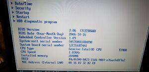 "IBM R60 INTEL(R) CORE(TM) DUO T2400/T2500 @ 1.8Ghz /2.0GHz 2GB, 15"" LCD"