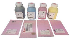 Toner powder & Chip for Konica Minolta MC1600 A0V301H, A0V30HH, A0V30CH, A0V306H