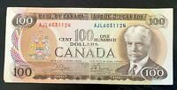 1975 $100 BANK OF CANADA V.F Cond!