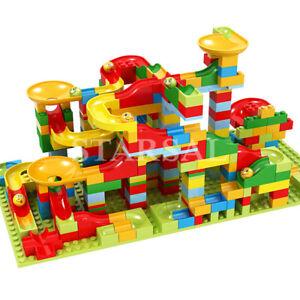 336Pcs DIY Construction Crazy Marble Race Run Maze Track Building Blocks Set